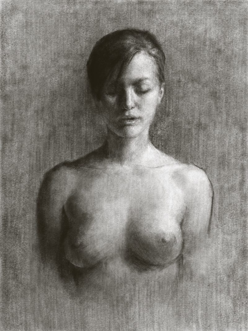 Female Nude, Digital Drawing