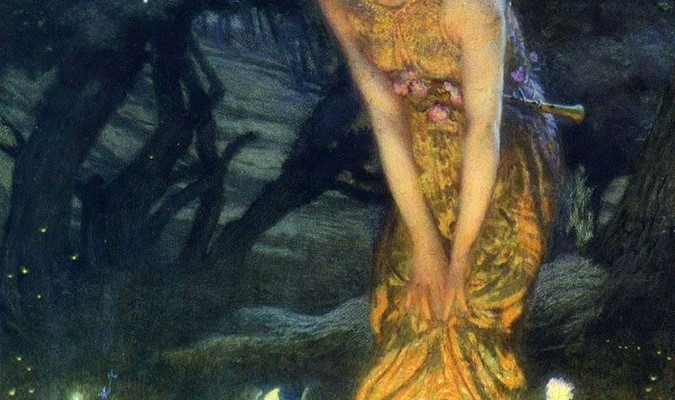 Midsummer Eve, Edward Robert Hughes, 1908